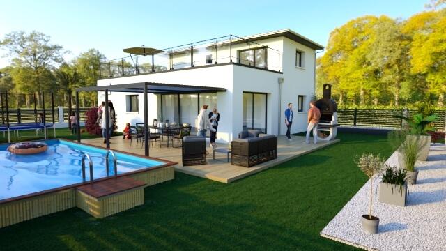 Villa de 96m² + garage !