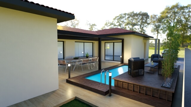 Villa 4 faces de 145 m² !