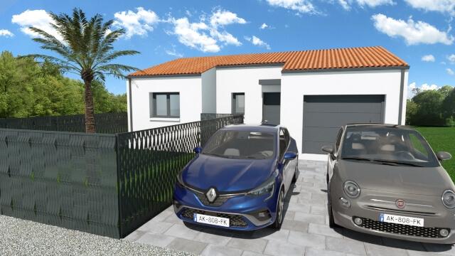 Villa 2 faces de 54 m² !