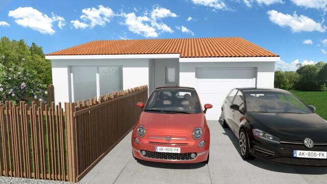 Villa de 60m² à Saint Jean Laseille !