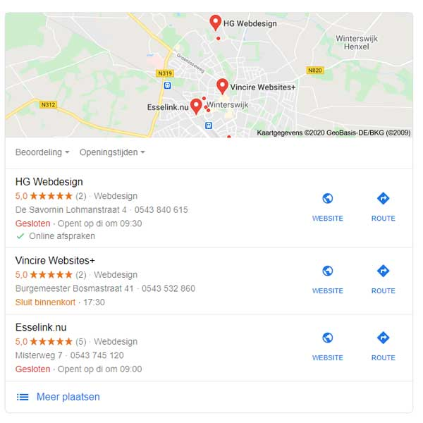 google local pack