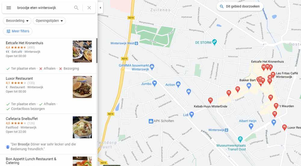 kaartje van winterswijk met plaatsing icoontjes positie
