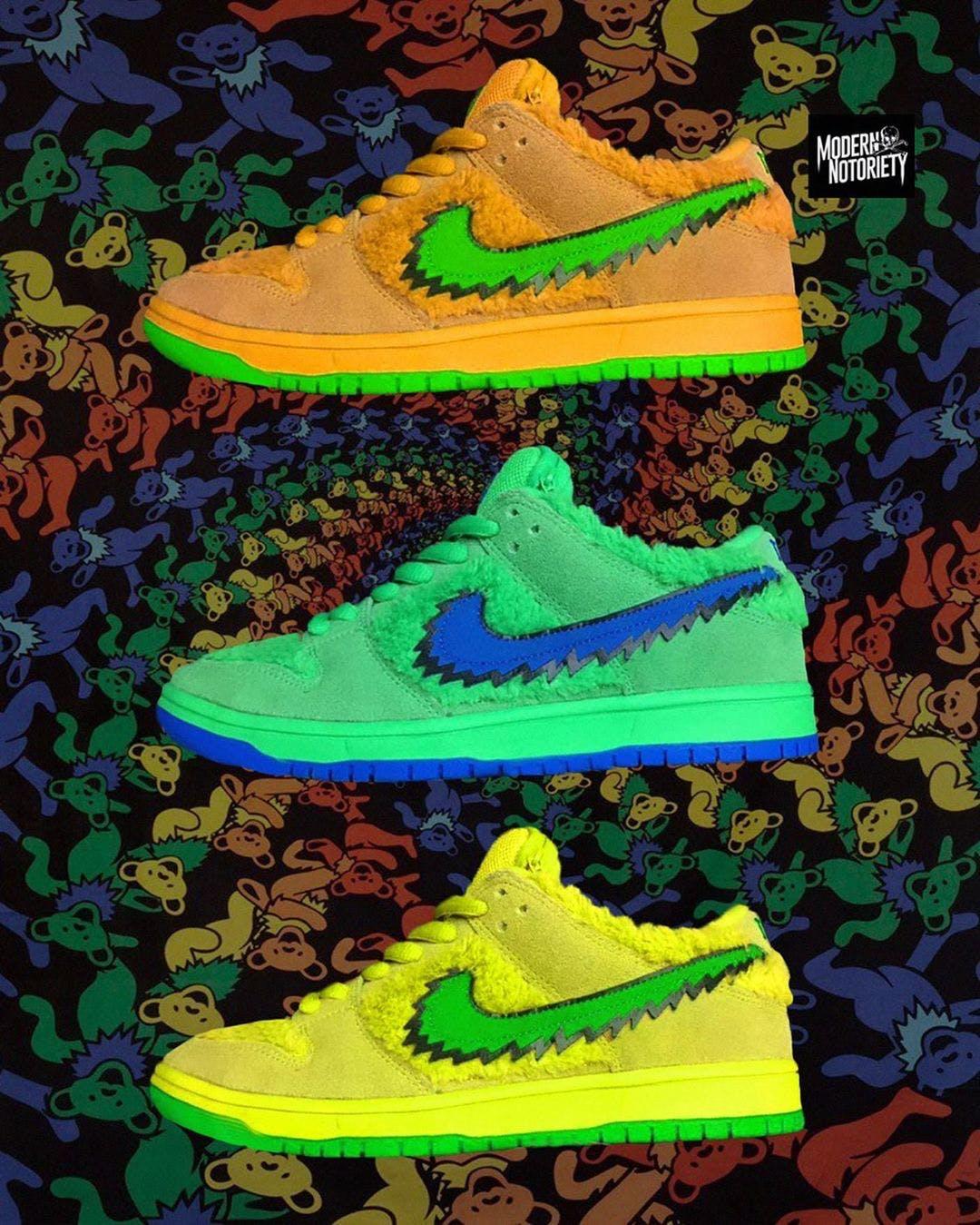 Nike SB Dunk Low Grateful Dead Bear