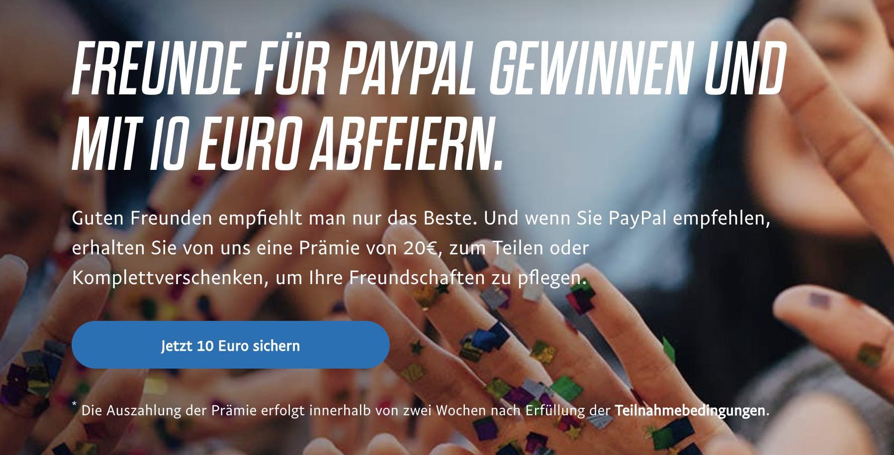 Beispiel Phase 7. Passiver Promoter durch 10 Euro Cashback bei einer Empfehlung