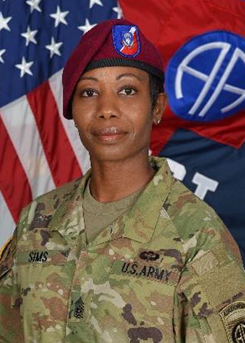 Command Sergeant Major Tonya Sims