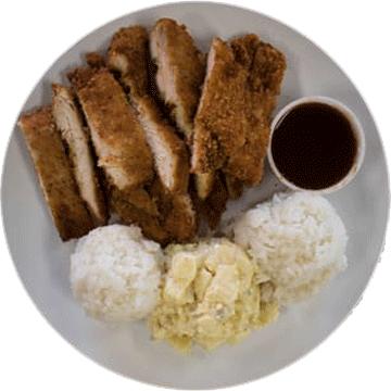 Hangy Ohana's Chicken Katsu