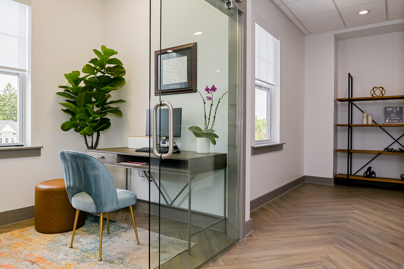 Inside Waibel Dentistry office