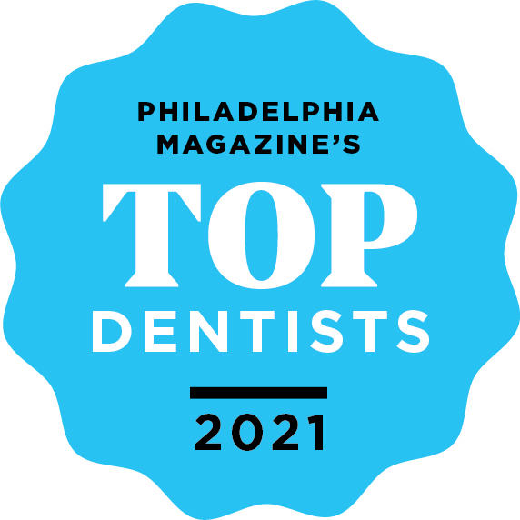 Philadelphia top Dentists 2021 Logo