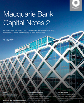 Macquarie Bank Capital Notes 2 (MBLPC)