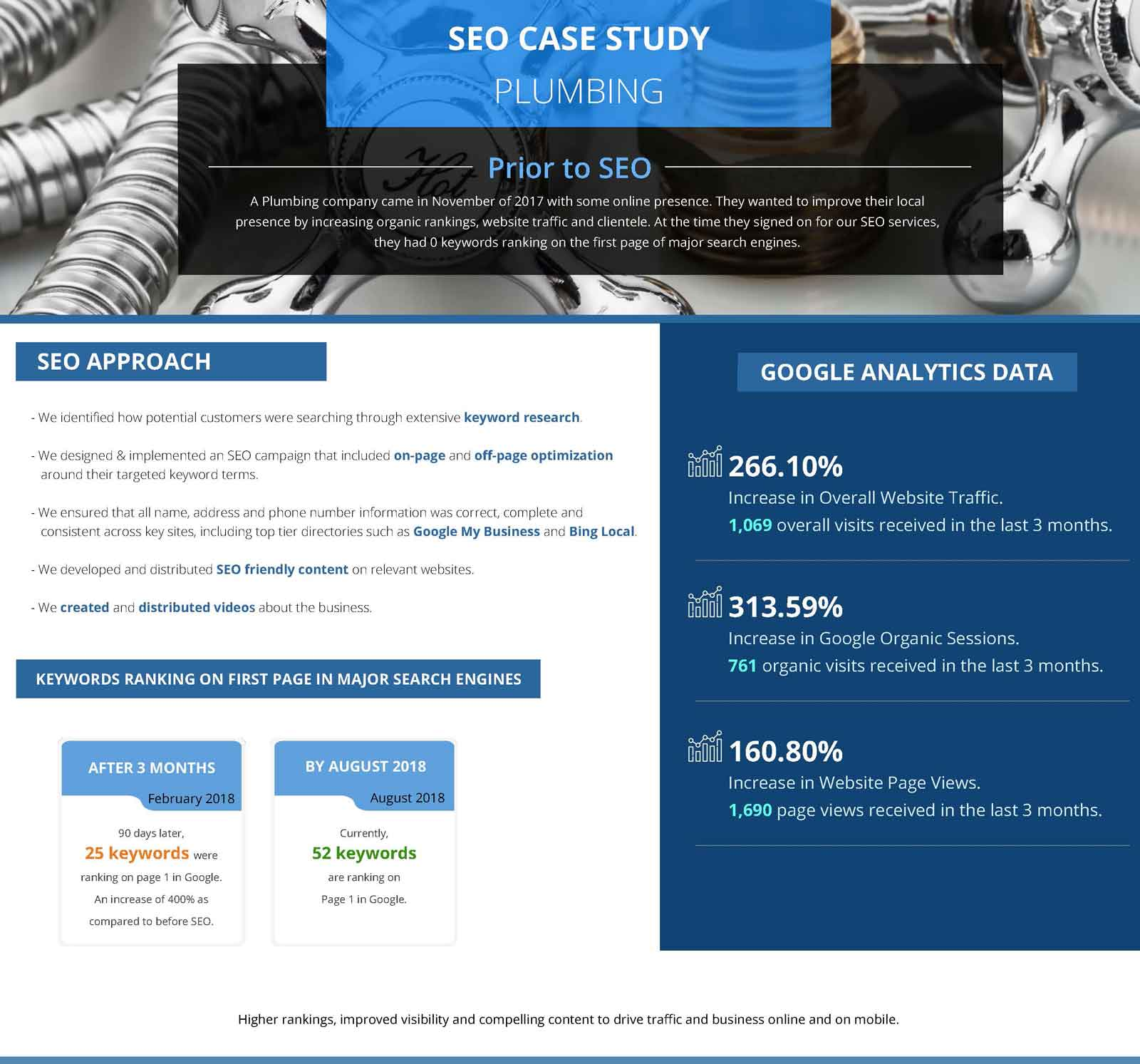 plumbing seo case study