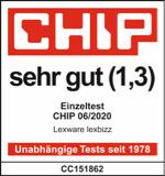 Chip Magazin Logo, Testergebnis: Sehr gut