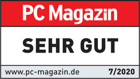 PC Magazin Bewertung: Sehr gut