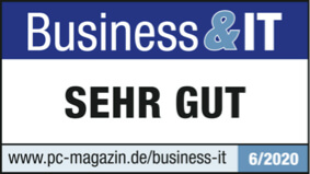 Business & IT Magazin Bewertung: Sehr gut
