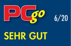 PC Go Magazin Logo, Bewertung: Sehr gut