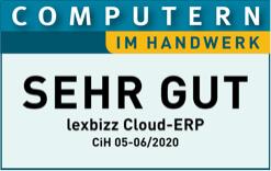 Computern im Handwerk Logo, Testergebnis: Sehr gut