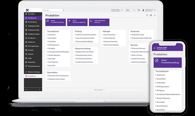 lexbizz Produktion - Screen Desktop + Mobil
