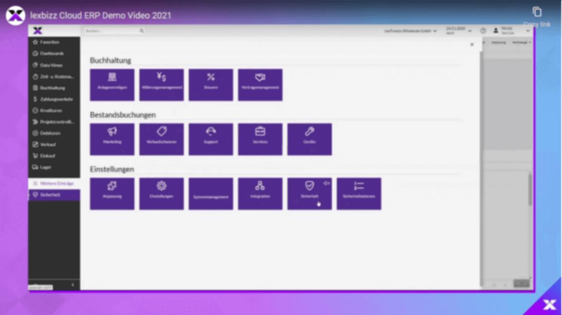 lexbizz Video Demonstration Vorschaubild
