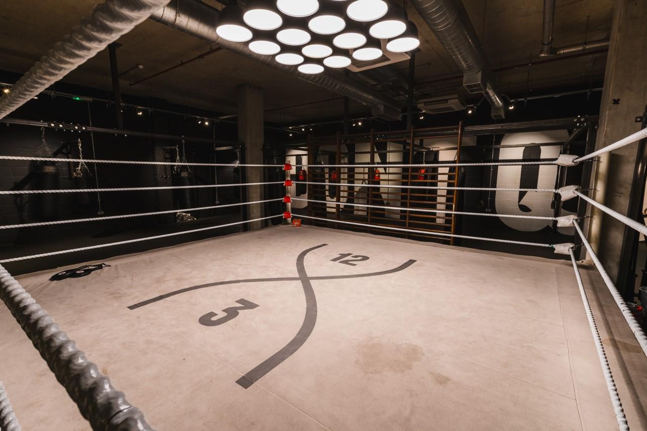 Paddington gym boxing ring