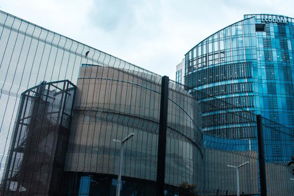 Bank buildings image