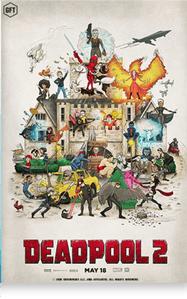 Deadpool movie digital collectable