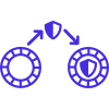 Zero Knowledge Token Transfer icon
