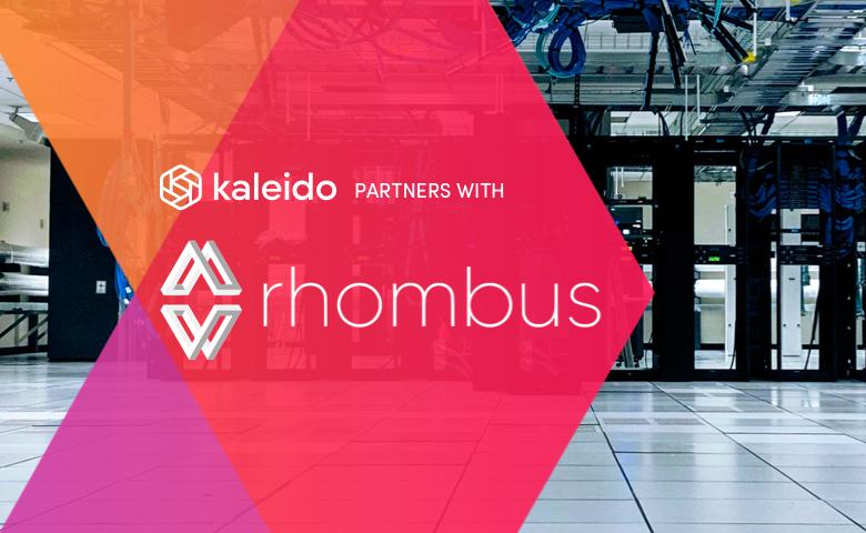 Kaleido and Rhombus Announce Partnership