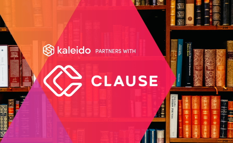 Kaleido and Clause Partner, Connecting Legal Contracts to Permissioned Blockchains