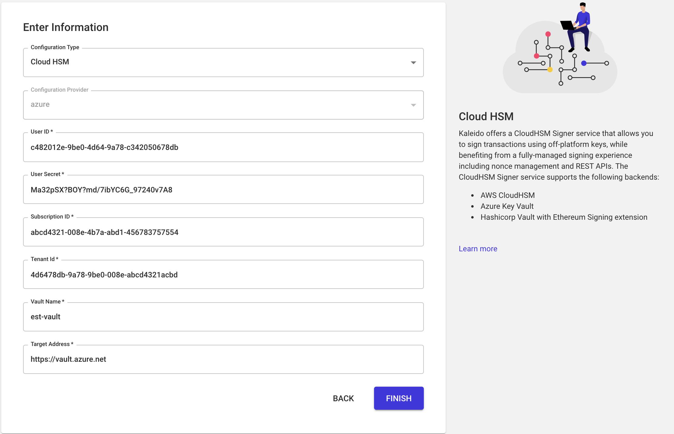 Cloud HSM Configuration instruction