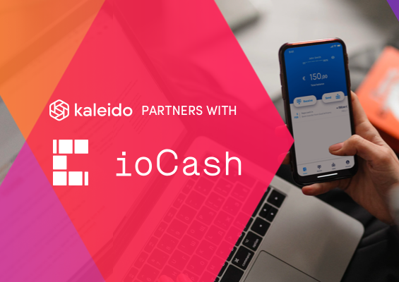 ioCash now available on Kaleido
