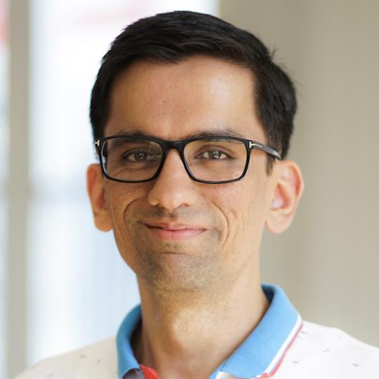 Team member portrait - Vinod Damle