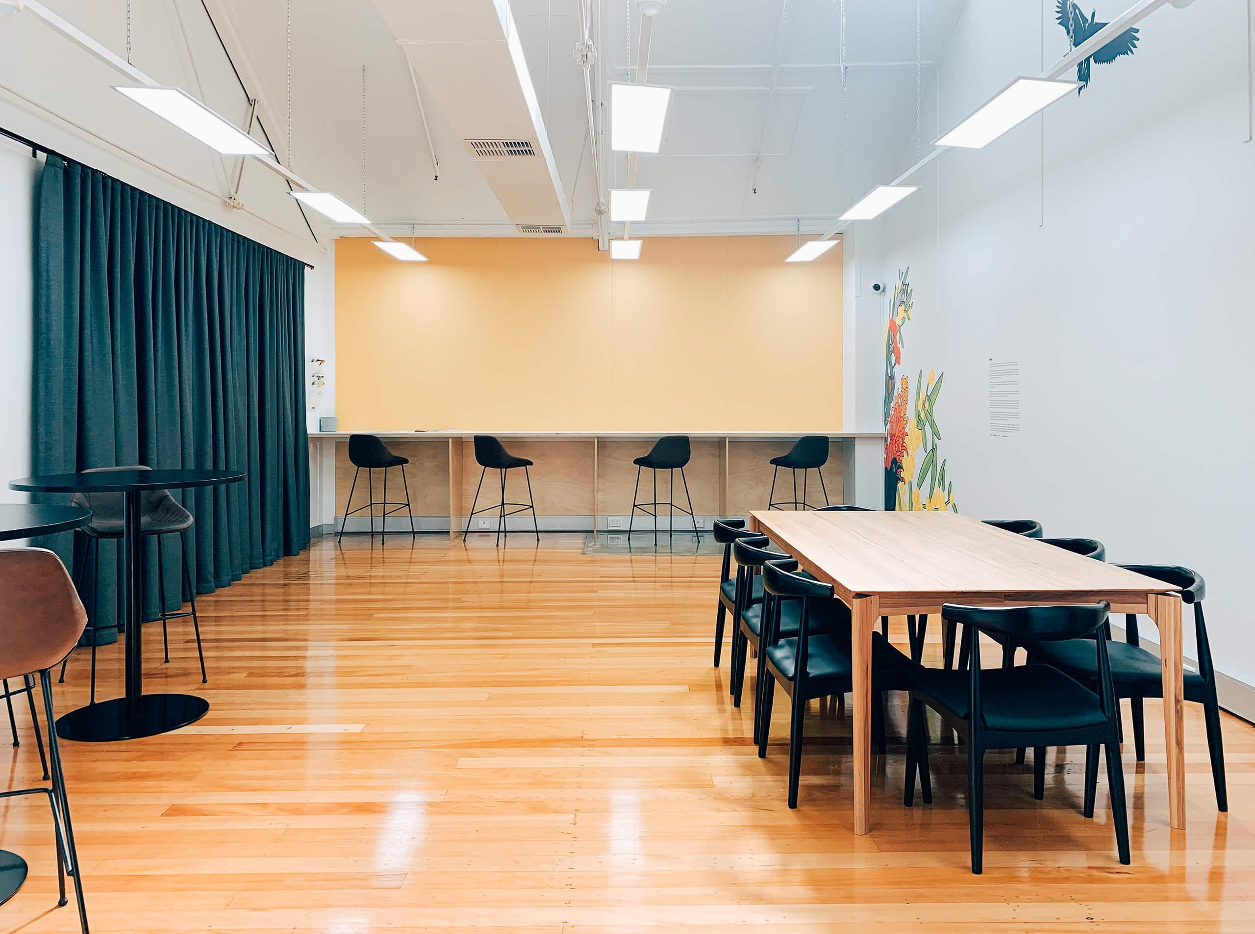 Workshop Space and Break Room