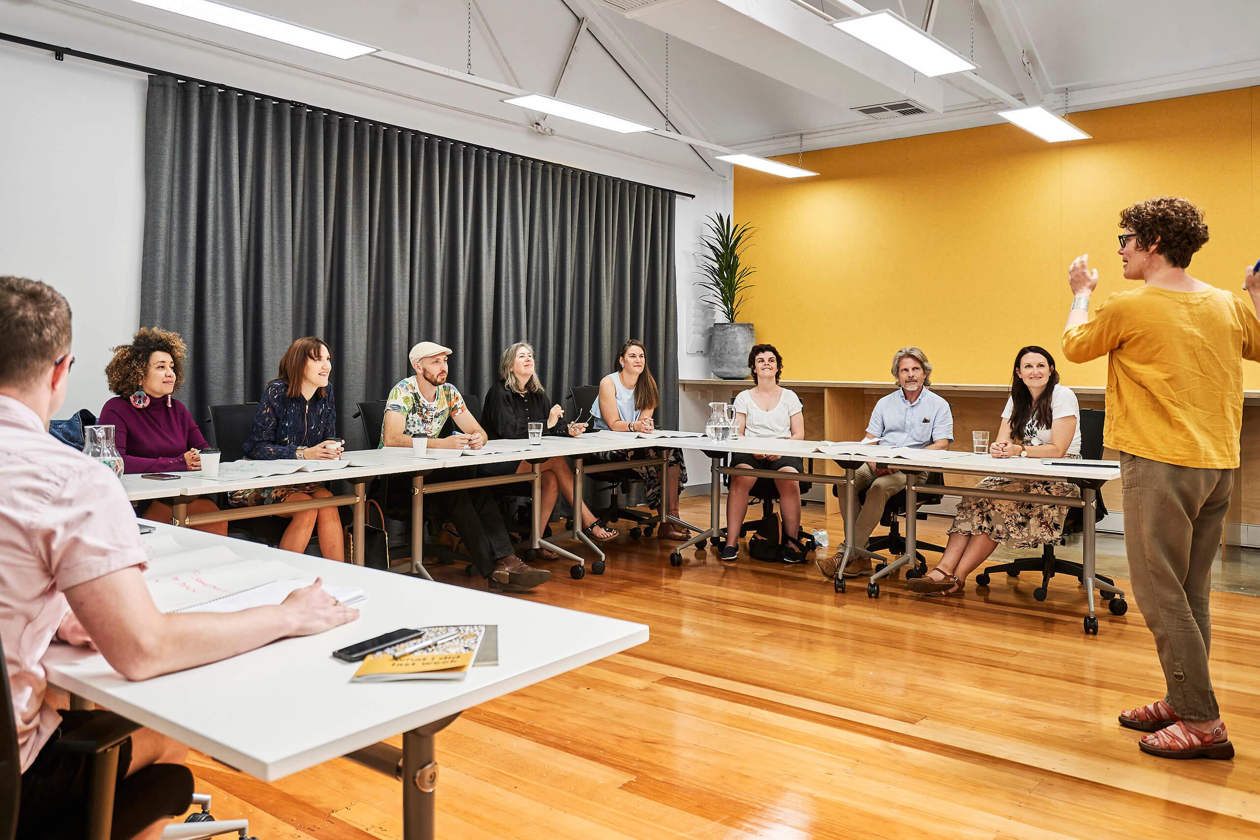 Creative Workshop Space inside Coworking Hub in Bendigo