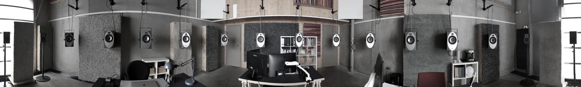 Photo du studio Sound is more avec vue panoramique