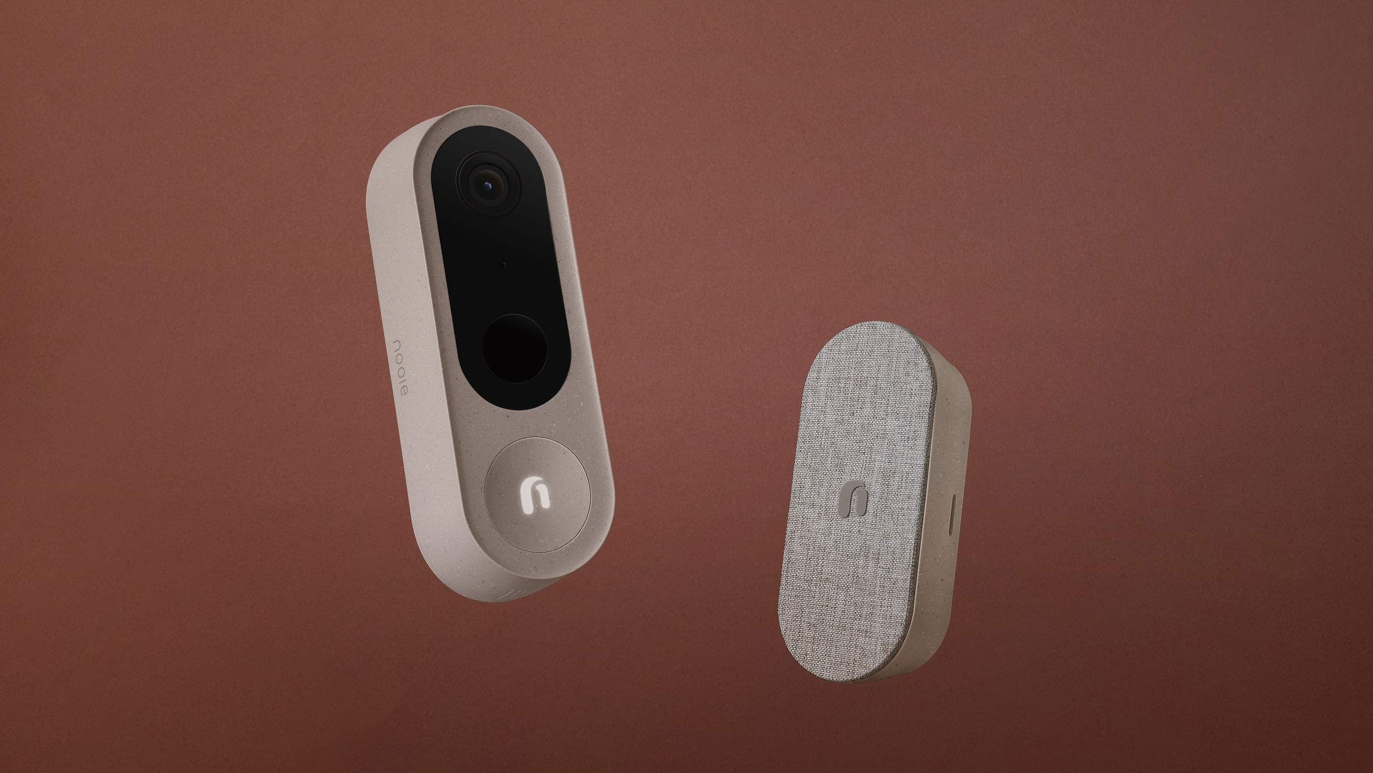 Nooie Doorbell and Base Station
