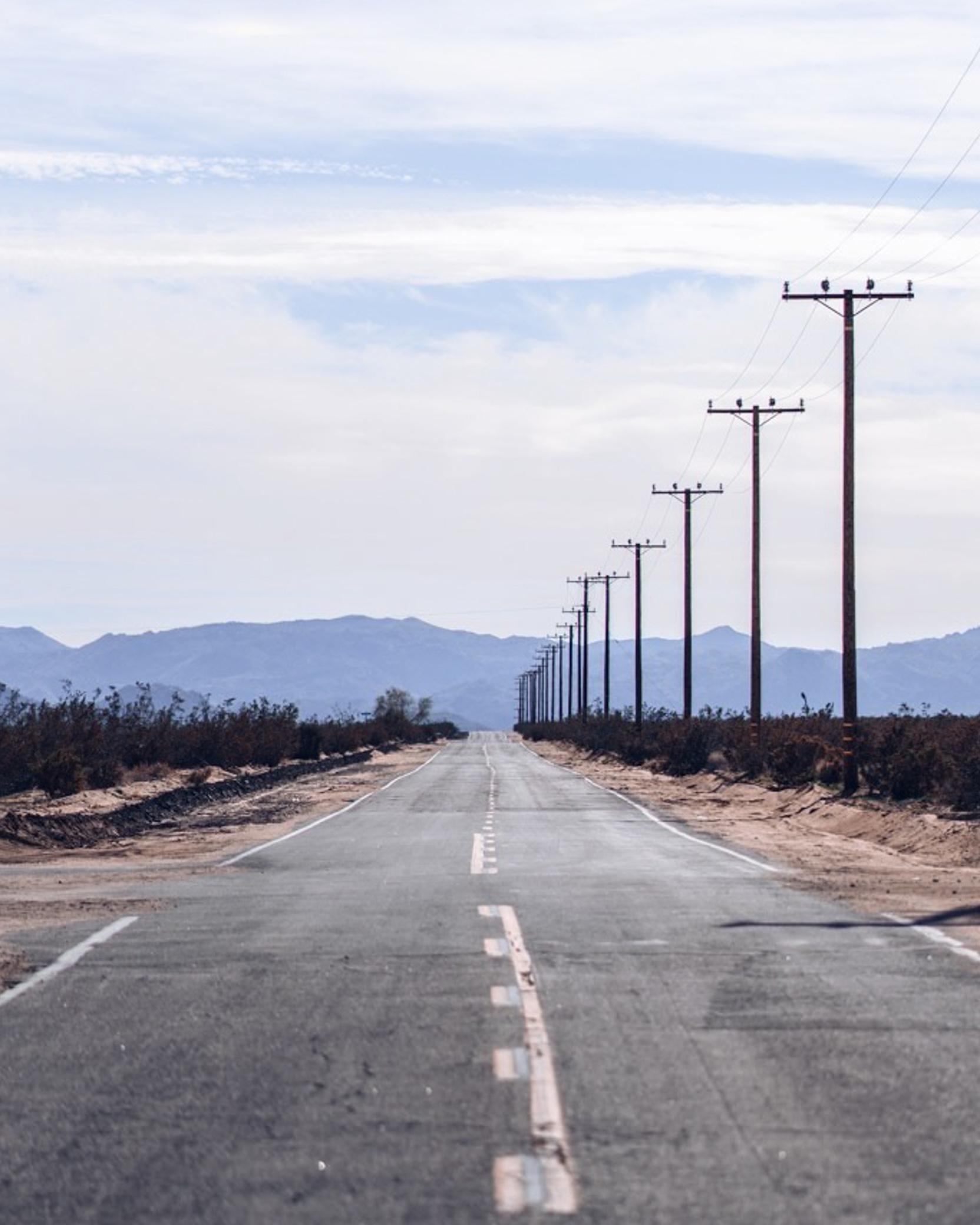 Wide open roads