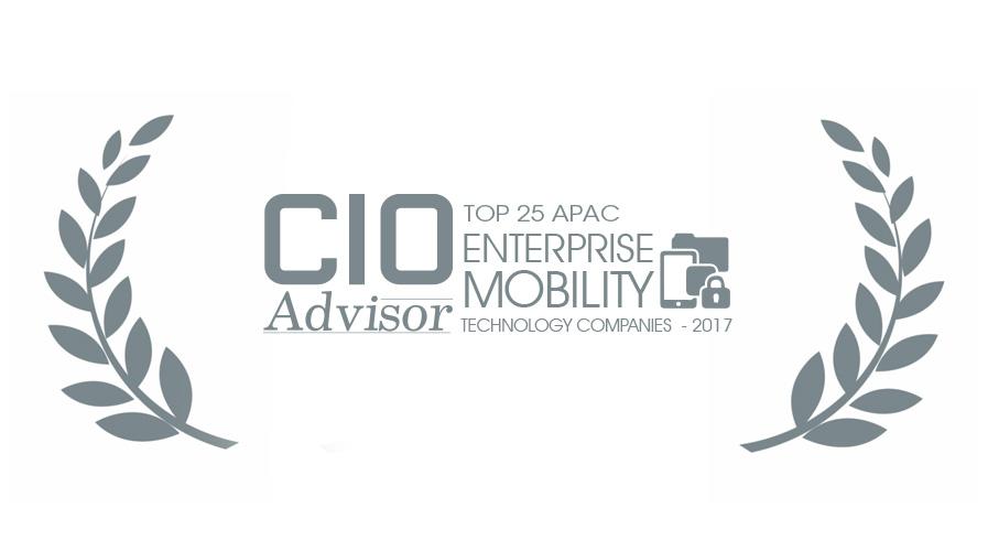 Top 25 Enterprise mobility award