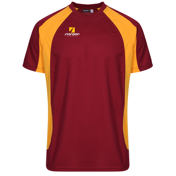 Scorpion Sports Maroon Amber ATX T-Shirt