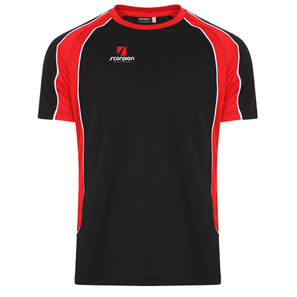 Scorpion Sports Black Red ATX T-Shirt