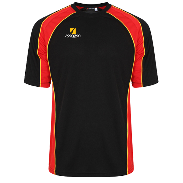 Scorpion Sports Black Red Amber ATX T-Shirt