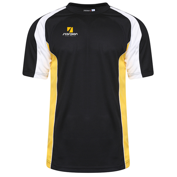 Scorpion Sports Black Yellow White ATX T-Shirt