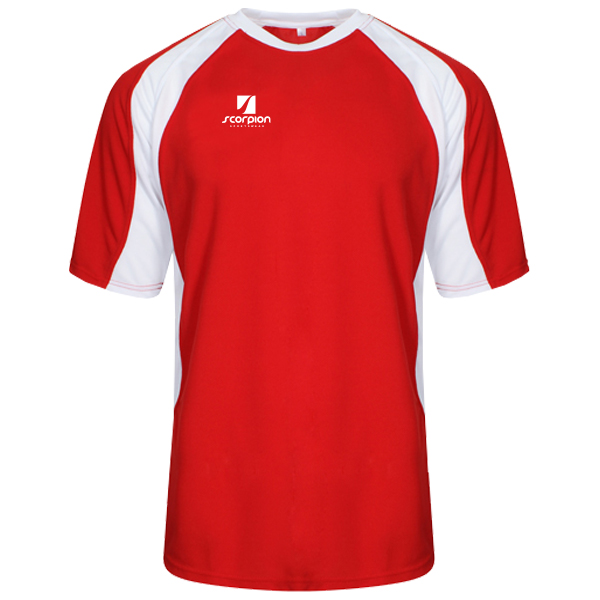 Scorpion Sports Red White ATX T-Shirt