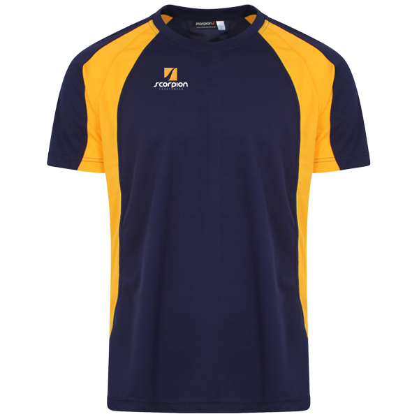 Scorpion Sports Navy Amber ATX T-Shirt