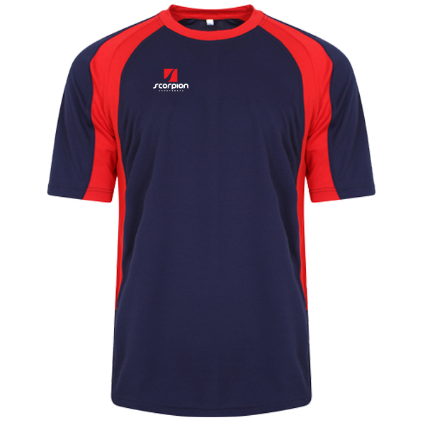 Scorpion Sports Navy Red ATX T-Shirt
