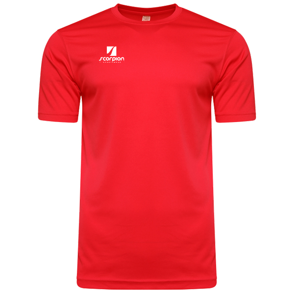 Scorpion Sports Red Warm Up T-Shirt