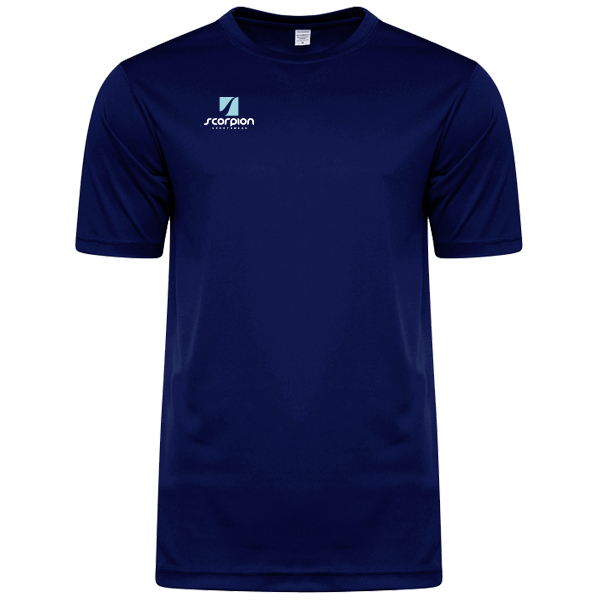 Scorpion Sports Navy Warm Up T-Shirt