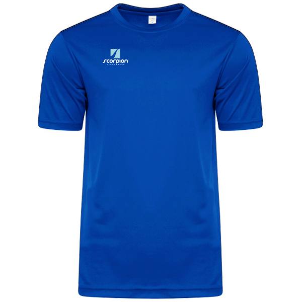 Scorpion Sports Royal Blue Warm Up T-Shirt