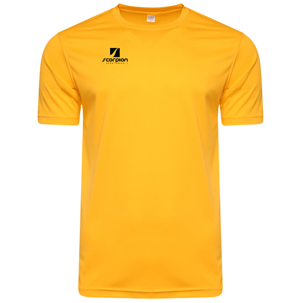 Scorpion Sports Yellow Warm Up T-Shirt