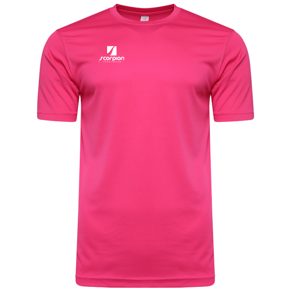 Scorpion Sports Pink Warm Up T-Shirt