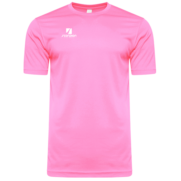 Scorpion Sports Light Pink Warm Up T-Shirt