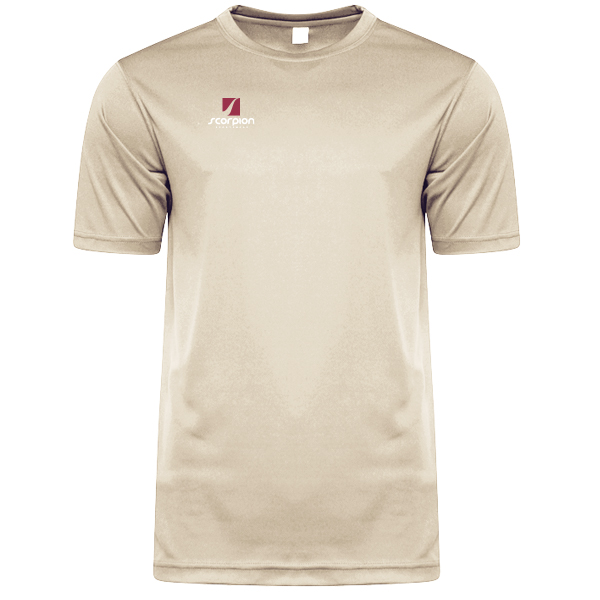Scorpion Sports Khaki Warm Up T-Shirt